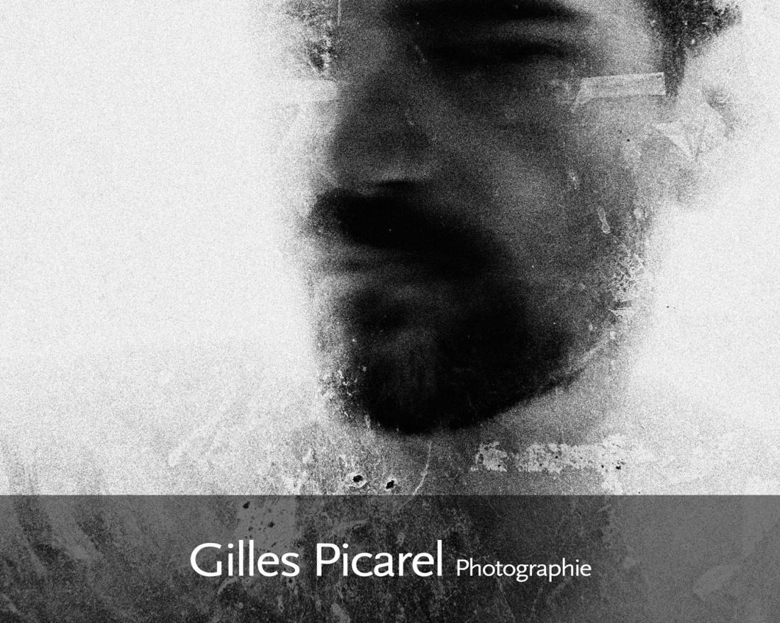 Gilles Picarel autoportrait
