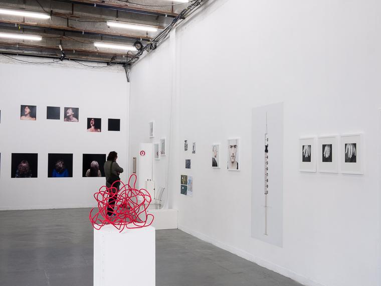 Exposition de gilles picarel dans le cadre de exposition collective Tant pis pour l'(in)visible au centre d'art Mains d'Œuvres à Saint-Ouen