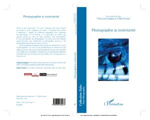 lLivre photographie et extériorité codirigé avec françois soulages et édité chez l'harmattan en 2016